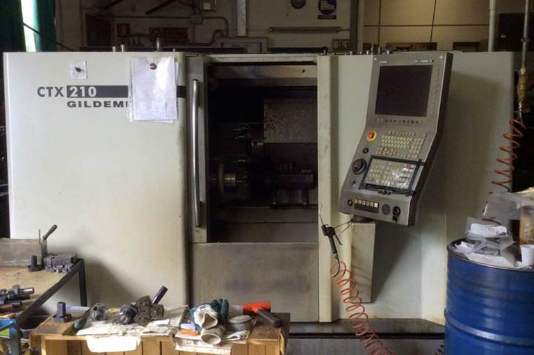 Tornio orizzontale cnc Gildemeister CTX 210