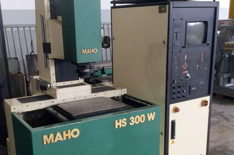Elettroerosione a tuffo usata MAHO HS 300 W