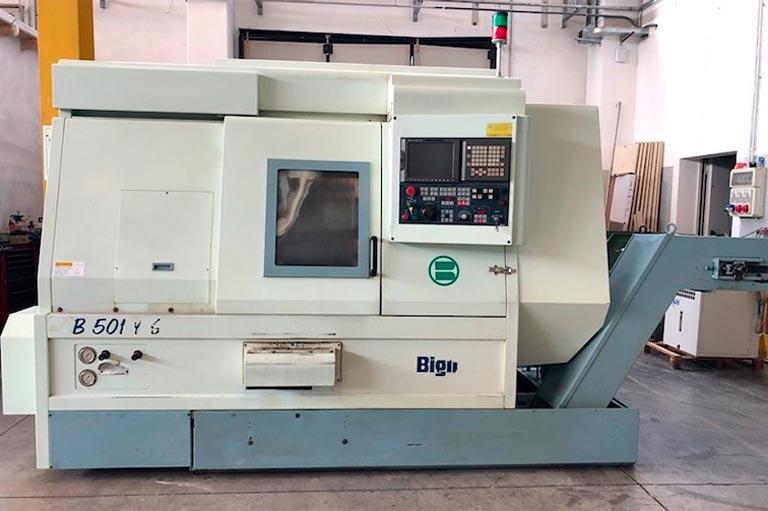 Tornio CNC Biglia B501 YS USATO