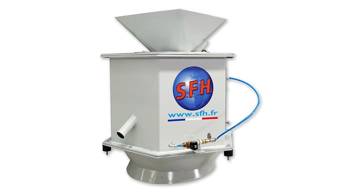 centrifuga trucioli metallici SFH