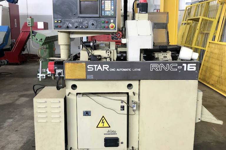 Tornio CNC fantina mobile STAR RNC 16